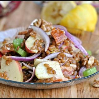 Smoked Salmon and Wheat Berry Salad + Weekly Menu