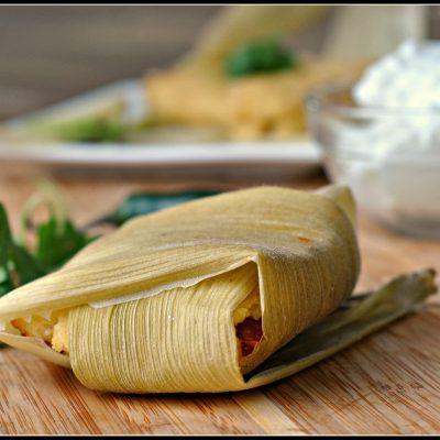 Vegan Tamales + Weekly Menu