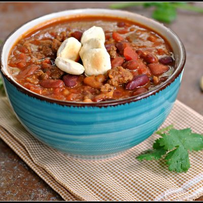 4th Annual Chili Contest: Entry #4 – Laura's Chili + Weekly Menu