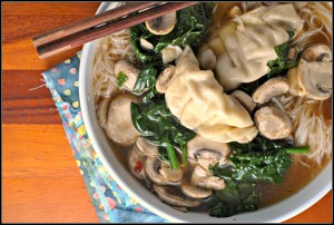 15-Minute Wonton Soup + Weekly Menu