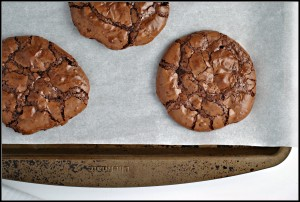 Chocolate Brownie Cookies + Weekly Menu