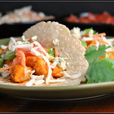 Recipe Repeat: Buffalo Chicken Tacos
