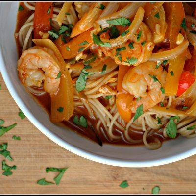 Spicy Thai Shrimp Bowls + Weekly Menu