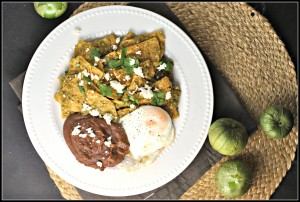 Chilaquiles and Salsa Verde 3