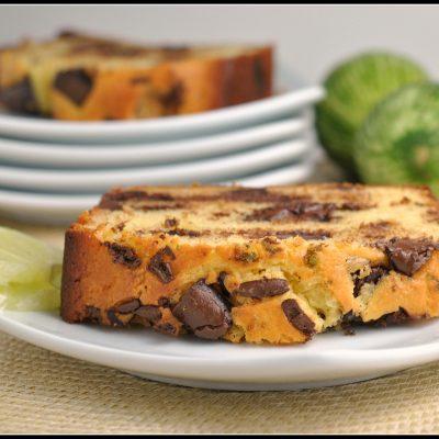 Dark Chocolate Chunk Coconut Key Lime Pound Cake + Weekly Menu