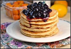 Lemon Ricotta Pancakes 4