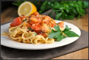BLT Pasta + Weekly Menu