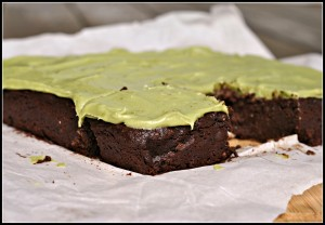 Avocado Brownies 1