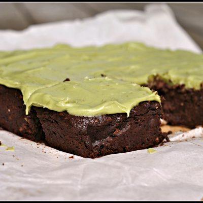 Avocado Brownies {gluten-free}