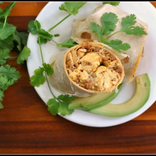 Chorizo and Bell Pepper Breakfast Burritos 2