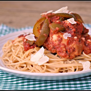 Crock Pot Chicken Spaghetti 4