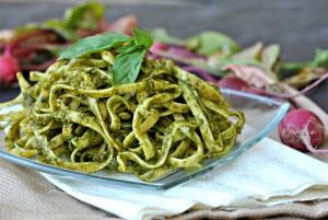 Arugula-Basil Pesto + Weekly Menu