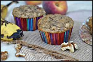 Healthy Banana Oat Muffins 3