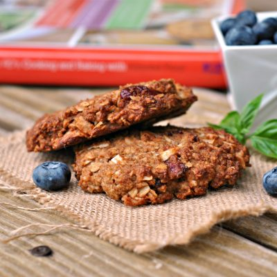 It's published! Prevention RD's Cooking and Baking with Almond Flour! + Coconut-Oat Cranberry Breakfast Cookies {gluten-free}
