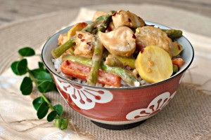Spicy Honey Mustard Chicken Stir-Fry 4