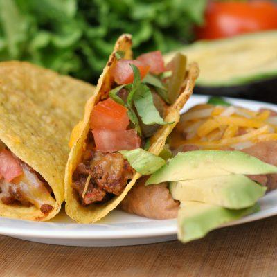 Baked Crunchy Tacos
