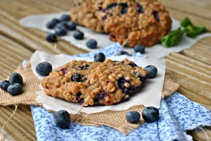 Blueberry, Cranberry, and Walnut Breakfast Cookies 4