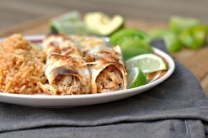 Chicken Enchiladas with Hatch Chile Sauce 4