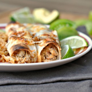 Chicken Enchiladas with Hatch Chile Sauce 4