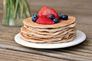 Cinnamon Whole Grain Power Pancakes 3