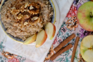 Crock Pot Apple Cinnamon Steel Cut Oats 2