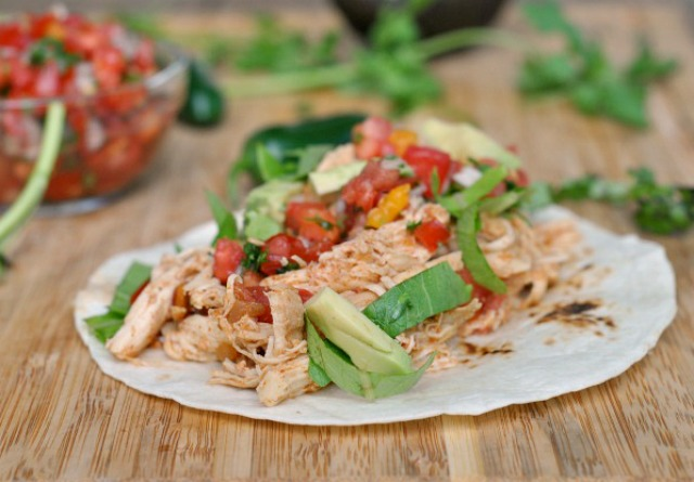 Crock Pot Chicken Tacos 2