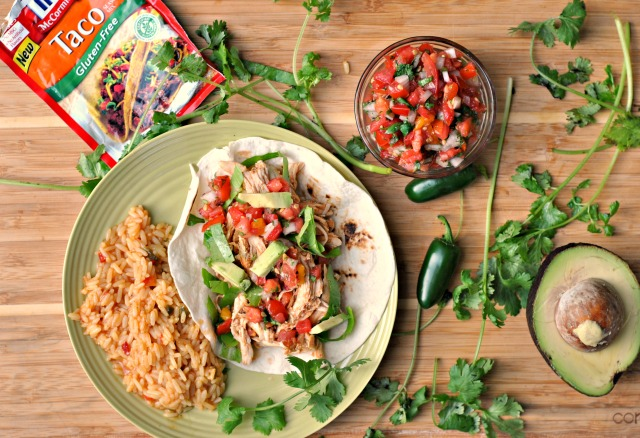 Crock Pot Chicken Tacos 3