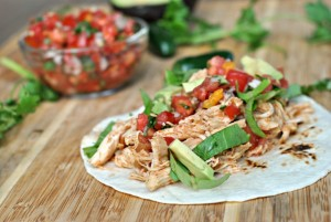 Crock Pot Chicken Tacos 4