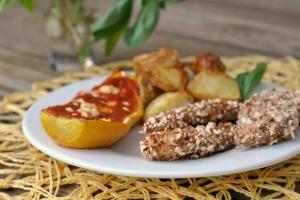 Pretzel-Crusted Honey Mustard Chicken Fingers 4