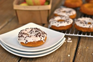 Maple-Pumpkin Baked Donuts 3