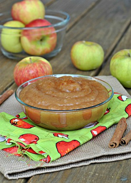 Simple Stovetop Applesauce 4