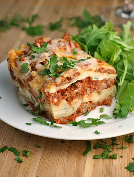 Traditional Lasagna 1