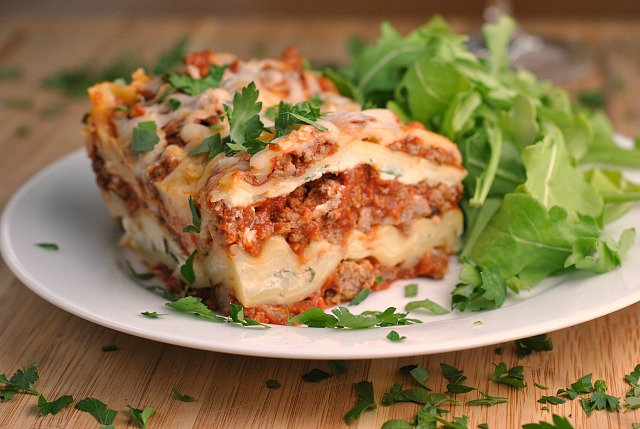 Traditional Lasagna 2
