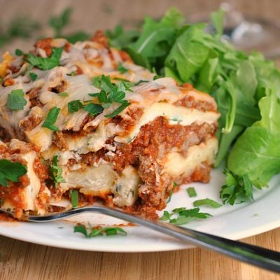 The Best Traditional Lasagna