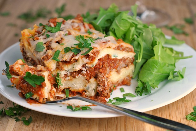 Traditional Lasagna 4