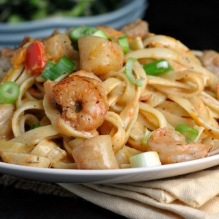 Blackened Seafood Pasta 2