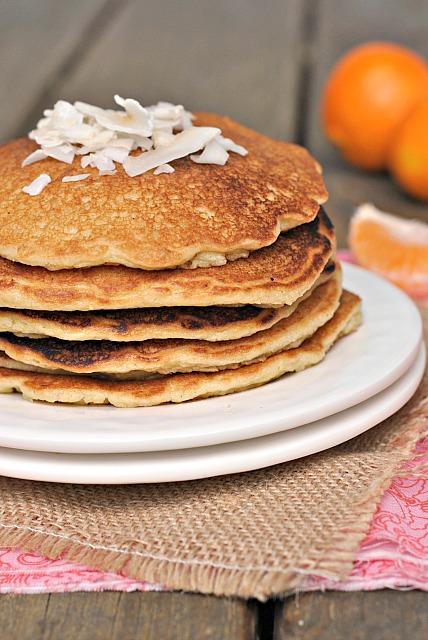 Quinoa Almond Flour Pancakes 1