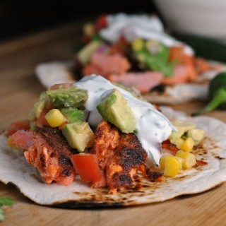 Blackened Salmon Tacos 3
