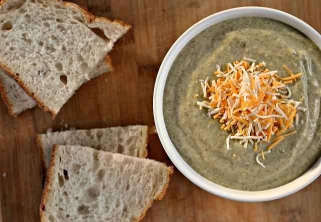 Cheesy Broccoli Soup 2