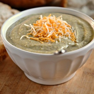 Cheesy Broccoli Soup 3