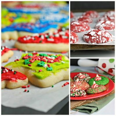Christmas Cookie and Goodie Round-Up + A Giveaway!