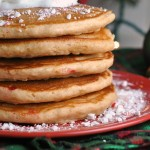 Whole Wheat Peppermint Pancakes 2