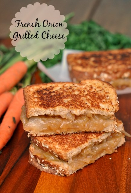 French Onion Grilled Cheese 1
