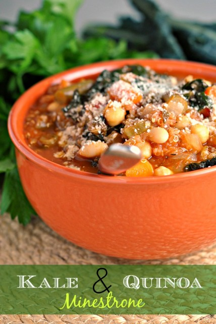 Kale and Quinoa Minestrone 1