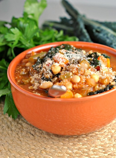 Kale and Quinoa Minestrone 4
