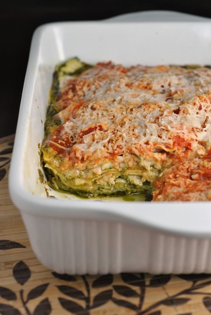 Pesto Chicken Lasagna 1