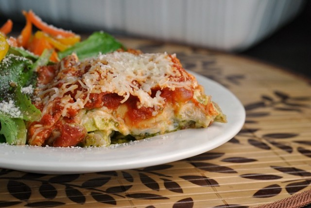 Pesto Chicken Lasagna 2
