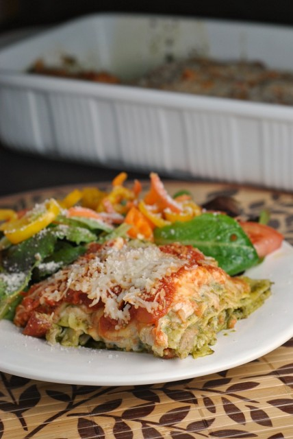 Pesto Chicken Lasagna 3