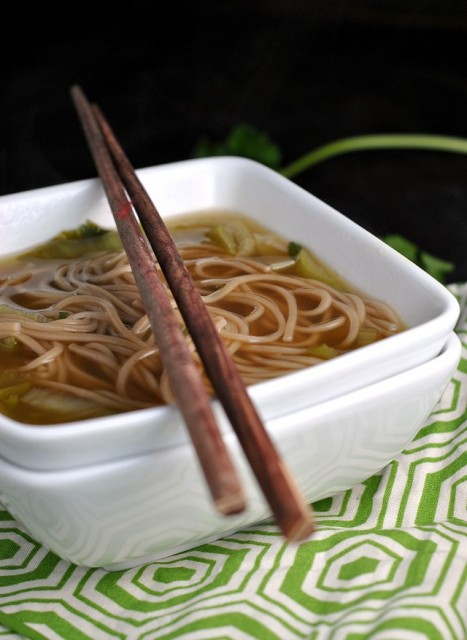 Quick and Easy Chinese Noodle Soup 3