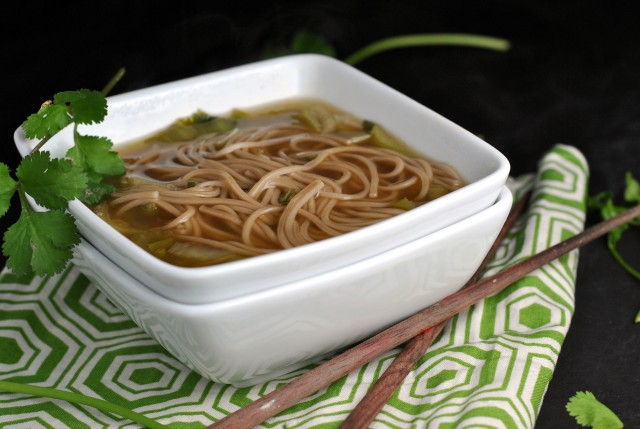 Quick and Easy Chinese Noodle Soup 4